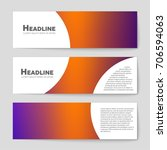 abstract vector layout... | Shutterstock .eps vector #706594063