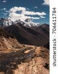 minya konka the highest... | Shutterstock . vector #706611784