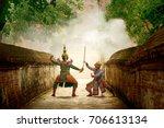 thai culture dancing art in...