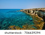 seacaves  ayia napa  cyprus | Shutterstock . vector #706639294