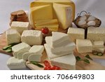 turkish regional cheese | Shutterstock . vector #706649803