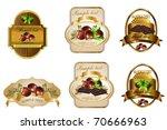 label | Shutterstock .eps vector #70666963