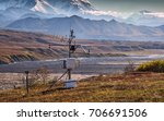 weather data station at the... | Shutterstock . vector #706691506