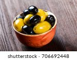 bowls with different kind of... | Shutterstock . vector #706692448
