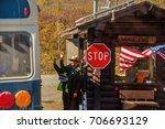 denali national park  alaska ...   Shutterstock . vector #706693129