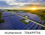 aerial sunshine when the... | Shutterstock . vector #706699756