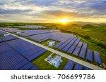 aerial sunshine when the... | Shutterstock . vector #706699786