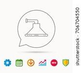 kitchen hood icon. kitchenware... | Shutterstock .eps vector #706704550