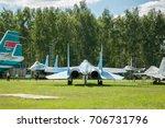 russia  moscow region  monino   ... | Shutterstock . vector #706731796