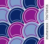 violet tiles. seamless vector... | Shutterstock .eps vector #706736416