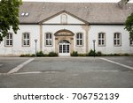 Small photo of historical annex building near the castle in the town Detmold