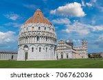 Pisa Baptistery In Pisa  Italy...