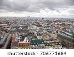 an aerial view of vienna... | Shutterstock . vector #706771684