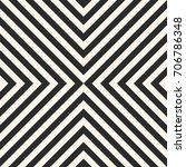 black and white stripes vector... | Shutterstock .eps vector #706786348