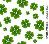 Seamless St.Patrick's day background - stock vector