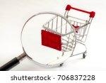 secret shopper or mystery... | Shutterstock . vector #706837228