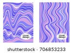 cover layouts collection with... | Shutterstock .eps vector #706853233
