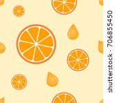 seamless cute pattern with