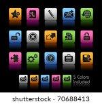 web 2.0 icons    color box      ...