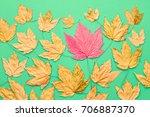 Autumn Fashion Fall Leaves...