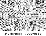 halftone radial black and white.... | Shutterstock . vector #706898668
