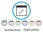 sparkler firecracker calendar...   Shutterstock .eps vector #706914943