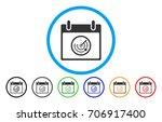 radar calendar day vector...   Shutterstock .eps vector #706917400