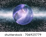entangled black holes  ... | Shutterstock . vector #706925779