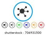 network links vector rounded... | Shutterstock .eps vector #706931500