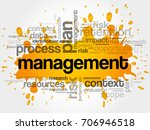 management word cloud collage ... | Shutterstock . vector #706946518
