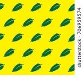neem leaf pattern. ayurveda... | Shutterstock .eps vector #706959574