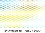 light blue  yellow vector of...   Shutterstock .eps vector #706971400