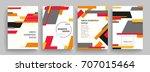 creative cover design. business ...   Shutterstock .eps vector #707015464
