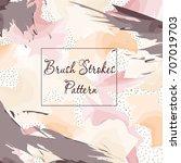 brush stroke pattern   Shutterstock .eps vector #707019703