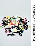 rubber band | Shutterstock . vector #707025868