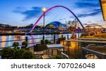 The Quayside In Newcastle Upon...