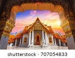 Marble Temple In Bangkok ...