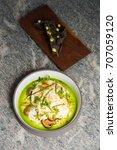 haute cuisine  gourmet... | Shutterstock . vector #707059120