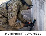 Small photo of Defusing terrorists bomb with special forces
