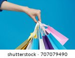 shopping background  colorful