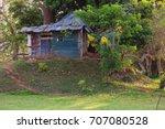Sri Lanka  Poor Shack Of Rusty...