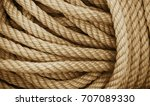 new yellow rope close up | Shutterstock . vector #707089330