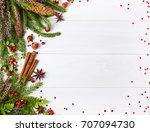 Christmas Fir Tree  Fern And...