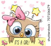 Baby Shower Greeting Card With...