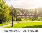 Spa House In Karlova Studanka...