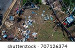 total loss everything is gone... | Shutterstock . vector #707126374