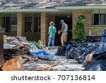 houston  texas   august 31 ... | Shutterstock . vector #707136814