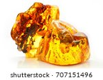 Natural Amber. Two...