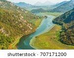 canyon  crnojevica river near... | Shutterstock . vector #707171200