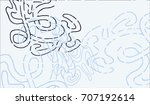 abstract background with... | Shutterstock .eps vector #707192614